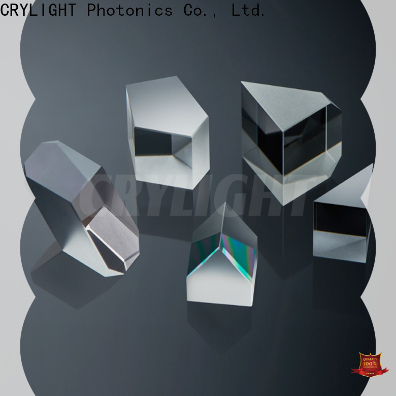 Crylight fresnel right angle prism personalized for beamsplitter penta
