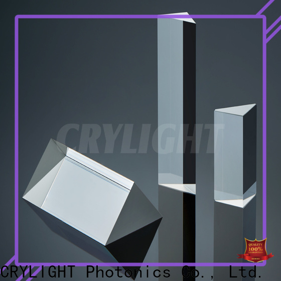 Crylight fused fused silica wedge factory price for penta