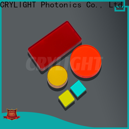 Crylight infrared filter personalized for industrial