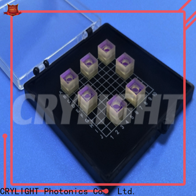 Crylight wedge micro optical prism supplier for components