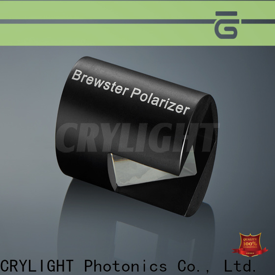 Crylight alpha-bbo polarizer personalized for commercial
