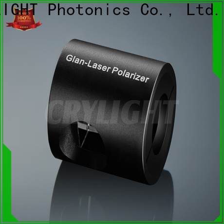Crylight glan laser polarizer personalized for industrial
