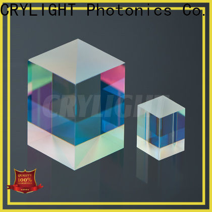 Crylight cubepbs polarising beam splitter cube for industrial