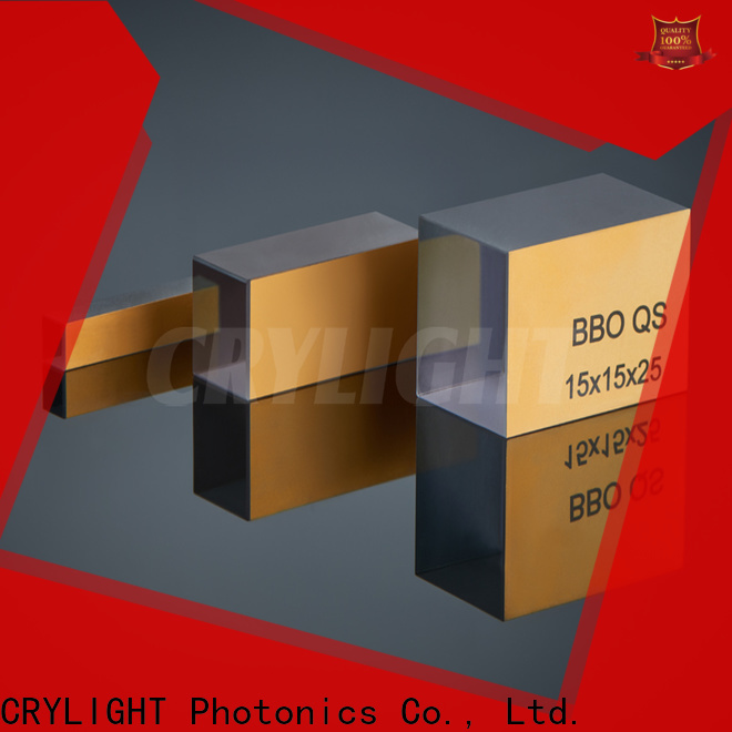 bibo BBO crystal design for operations