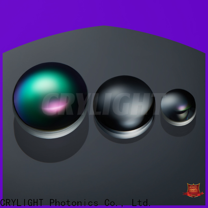 Crylight achromatic doublet lenses series for beam expanders