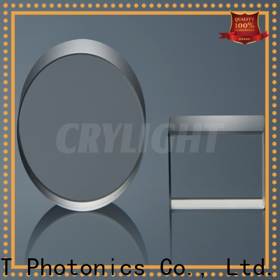 Crylight caf2 precision optical window supplier for sale