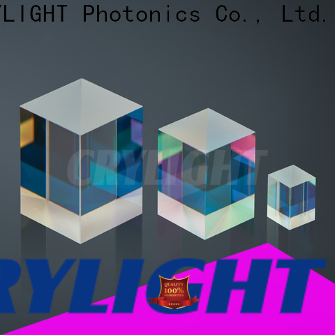 Crylight cubepbs high power polarization beamsplitter cube supplier for industry