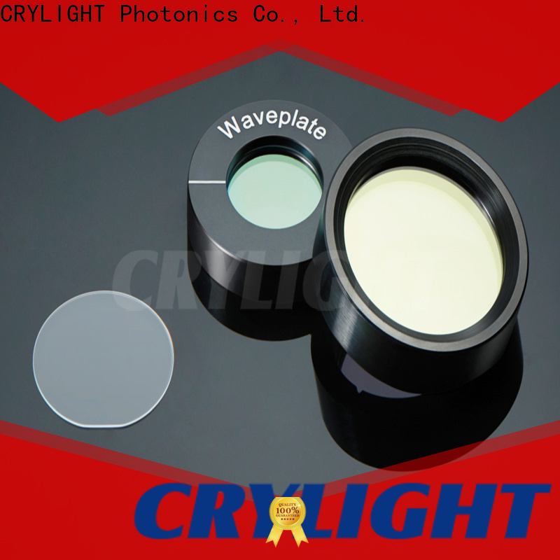 Crylight achromatic half waveplates factory price for rotate