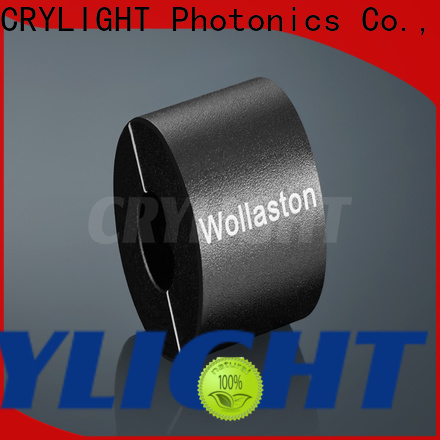 Crylight taylor yvo4 wollaston polarizer wholesale for optical instrument