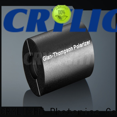 Crylight calcite rochon polarizer supplier for optical techniques