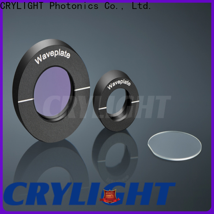 Crylight achromatic broadband half waveplate supplier for beamsplitter