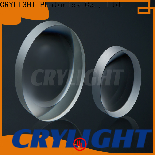 Crylight double convex lens from China for beam expanders