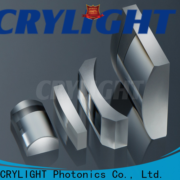 Crylight concave cylinder optics factory price for spectroscopic